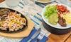Saveurs mexicaines en duo entrée, plat et dessert par personne selon option, dès 25,90 € au restaurant Le Ship