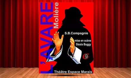 Pièce de théâtre pour enfant, L'Avare de Molièredès 9,90 € au Théâtre Espace Marais