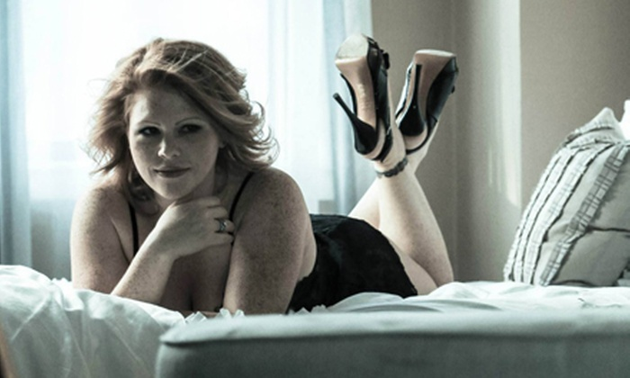Coughlin Photography - Walpole: 45- or 60-Minute Boudoir Photo-Shoot Package with Makeup and Digital Images at Coughlin Photography (Up to 52% Off)