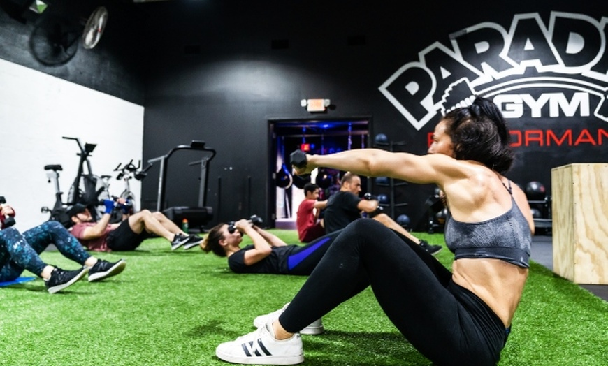 Drop In Fitness Classes Paradise Gym Groupon