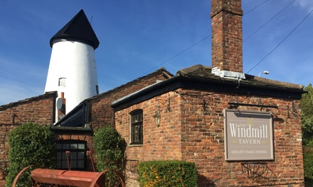 Carvery for Two or Four at The Windmill Tavern