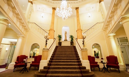 Cardiff: 1 or 2 Nights for Two with Breakfast, Dinner, Wine and Option for Afternoon Tea at The Angel Hotel Cardiff