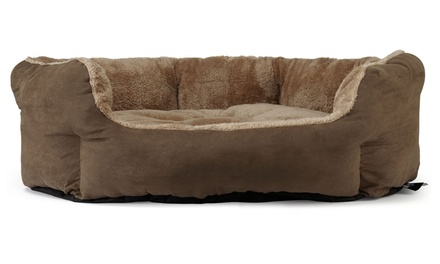 bunty polar ultra soft pet bed