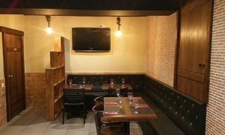 Menú para 2 o 4 con entrante, principal, postre, bebida y opción a botella de vino desde 19,99 € en El Racó Vint-i-set