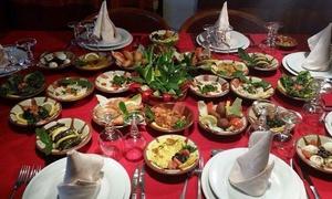 ELMANAR: Entrée au choix, plat au choix et thé à la menthe pour 2 ou 4 personnes dès 29,99 € au restaurant Elmanar