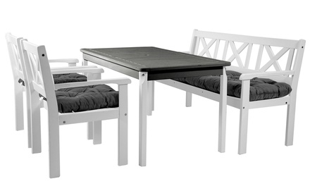 5 teiliges gartenm bel set evje groupon goods. Black Bedroom Furniture Sets. Home Design Ideas