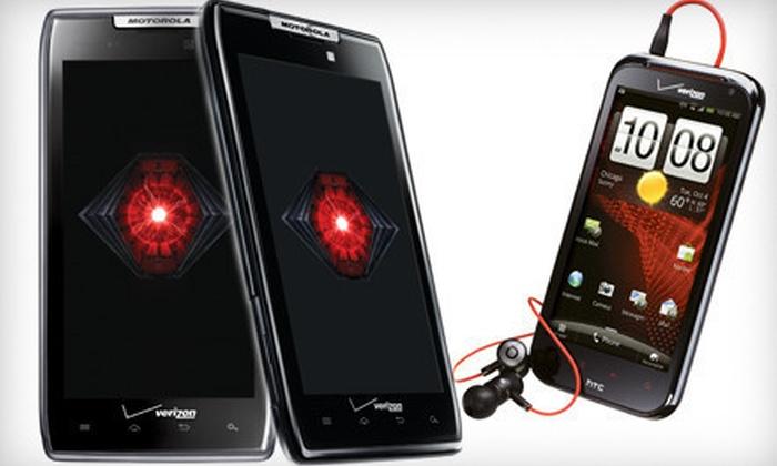 Verizon Wireless Premium Retailer – Mobile Generation - Multiple Locations: $15 Toward Cell Phones and Accessories
