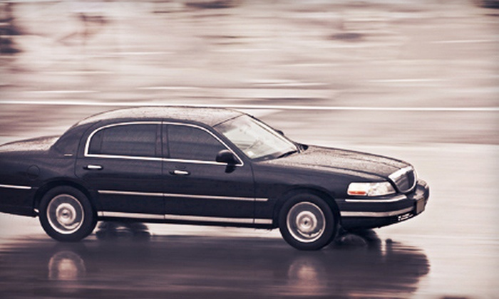 A&B Limo & Sedan Services - Downey: Chauffeured Sedan Service from A&B Limo & Sedan Services (Up to 62% Off). Two Options Available.