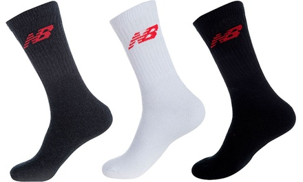 9er- oder 12er-Pack New Balance Socken in Schwarz, Weiß oder Grau  (Berlin)