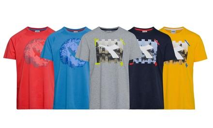 T shirt Diadora da uomo disponibile in diverse fantasie 2