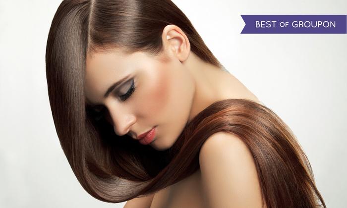 Serene Serene Hair Salon - Denville: Express Keratin Smoothing or Full Keratin Smoothing Treatment at Serene Serene Hair Salon (Up to 67% Off)