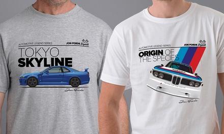 Camiseta para hombre Jon Forde Origin Of Species o Jon Forde Tokyo Skyline por 13,90 € (37% de descuento)