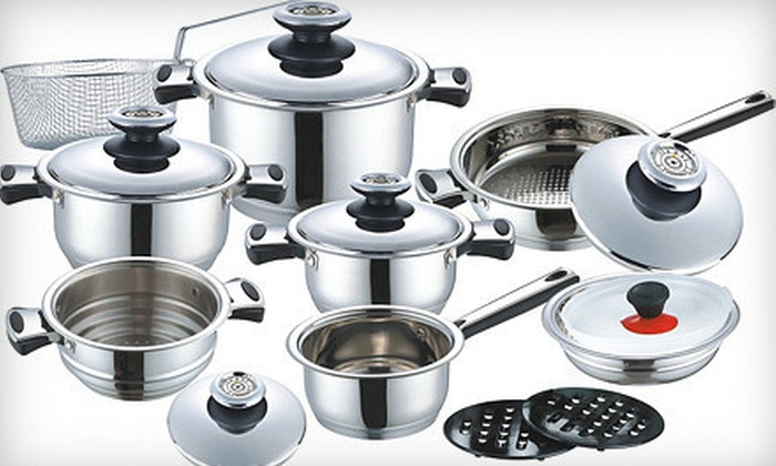 New Classic - Thornhill: $199 for a 17-Piece Kochtopfhaus Germany Cookware Set from New Classic ($473.47 Value)