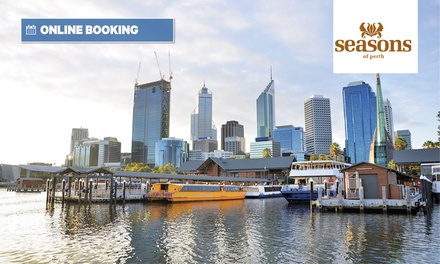 Perth City: 1- or 2-Night CBD Stay for Two with Breakfast, Wi-Fi and Option for Bottle of Wine at 4* Seasons of Perth