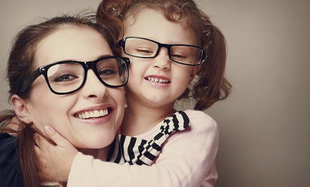 Credit Towards Complete Pair of Prescription Glasses with Optional Eye Exam at Pearle Vision (Up to 81% Off)