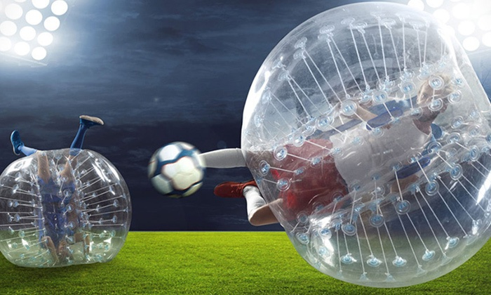 Bubble Foot Canada - Montreal: 2 Hours of Bubble Soccer for 16 People with Equipment and Coordinator at Bubble Foot Canada (Up to 79% Off); 3 Cities