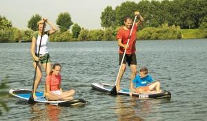 Team Watersport: Anfänger-Schnupperkurs Stand-Up-Paddling für ein oder zwei Personen bei Team Watersport (bis zu 43% sparen*)