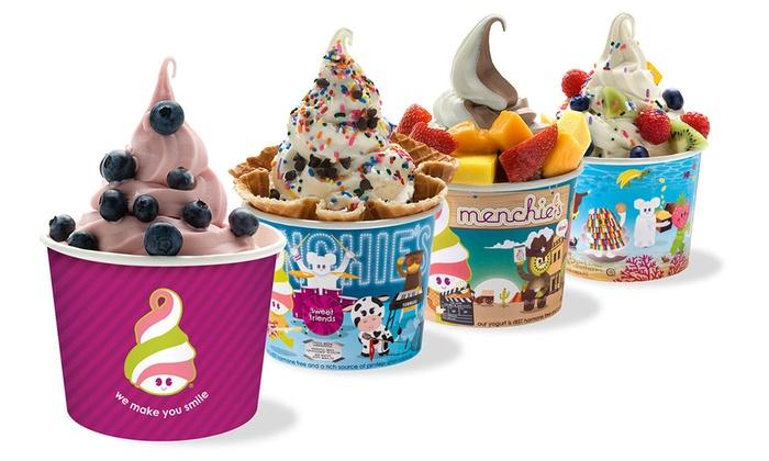 Menchie S Frozen Yogurt Cake