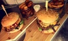 Two-Course Burger Meal for Two