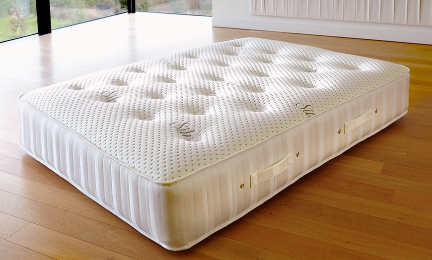 4000 Silver Pocket Sprung Mattress