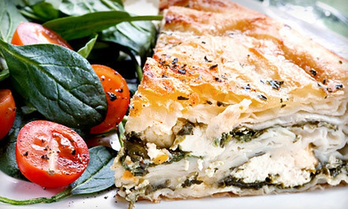 Acropol Greek Restaurant - Kitsilano: Greek Food for Two or Four at Acropol Greek Restaurant (Up to 52% Off)