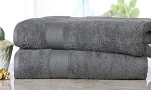 Oversized Cotton Bath Sheet (2-Pack)