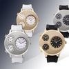 Geneva Platinum Triple Threat Men's Watch
