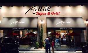 Anise Tapas & Grill: $15 for $30 Worth of Kosher Mediterranean Tapas and Entrees at Anise Tapas & Grill