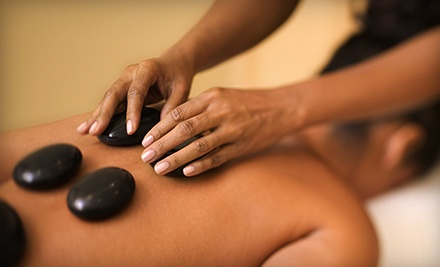One or Two 60-Minute Hot-Stone Massages at Angel Massage Spa (Up to 53% Off)