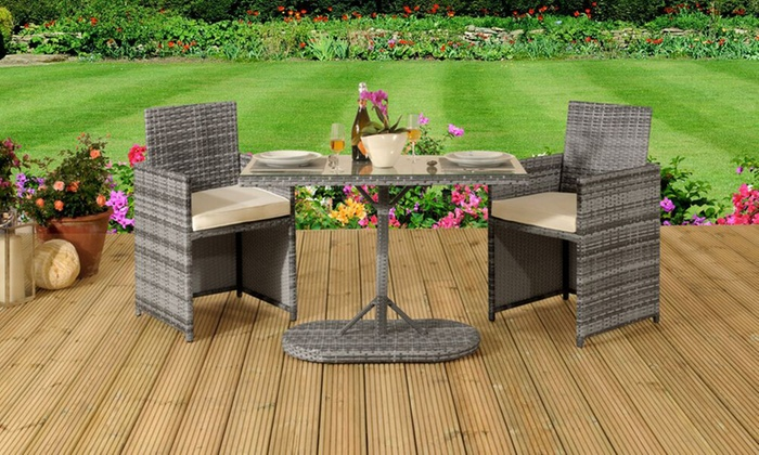 Havana Bistro Rattan Set with Optional Cover from £174.99