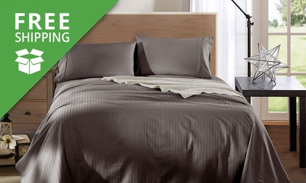Free Shipping: for a 1200TC Egyptian Cotton Sheet Set in Choice of Colour Don't Pay up to $349