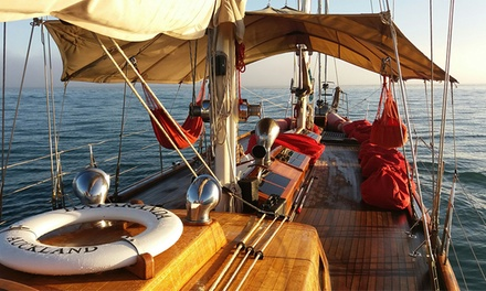 90 Minute Sunday Schooner Cruise for One ($68), Two ($136) or Four People ($272) with The Haparanda (Up to $540 Value)