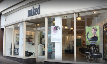 85-Minute Pamper Package at Naked Hair Salon (Up to 65% Off)