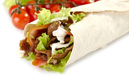 $15 for Three Groupons, Each Good for $8 Worth of Mediterranean Food at Medi ($24 Value)