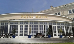 The Royal Hotel - Weston-Super-Mare - Non-Accommodation: Afternoon Tea For Two or Four from £14 at The Royal Hotel