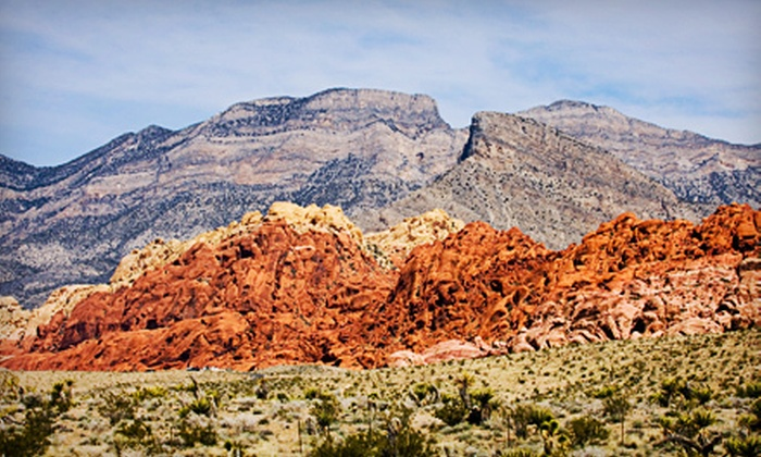 Las Vegas Travel Desk - Grand Canyon Tour & Travel: $59 for a Red Rock Canyon Tour with a Lunch Buffet at Red Rock Casino from Las Vegas Travel Desk ($119.99 Value)