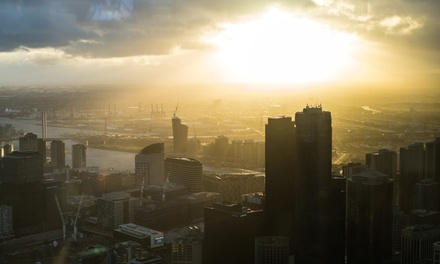 Melbourne Bites and Sights Tour with Entry to Eureka Skydeck and Sample Cuisine for Two with Melbourne Urban Adventures