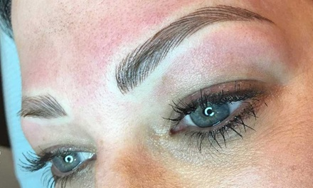 $199 for SemiPermanent Brow Feathering / Microblading at