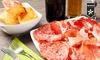 Gnocco fritto illimitato e vino