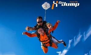 Go Jump GmbH: Wertgutschein über 100 € anrechenbar auf einen Tandemsprung aus 4.000 Metern Höhe bei Go Jump GmbH