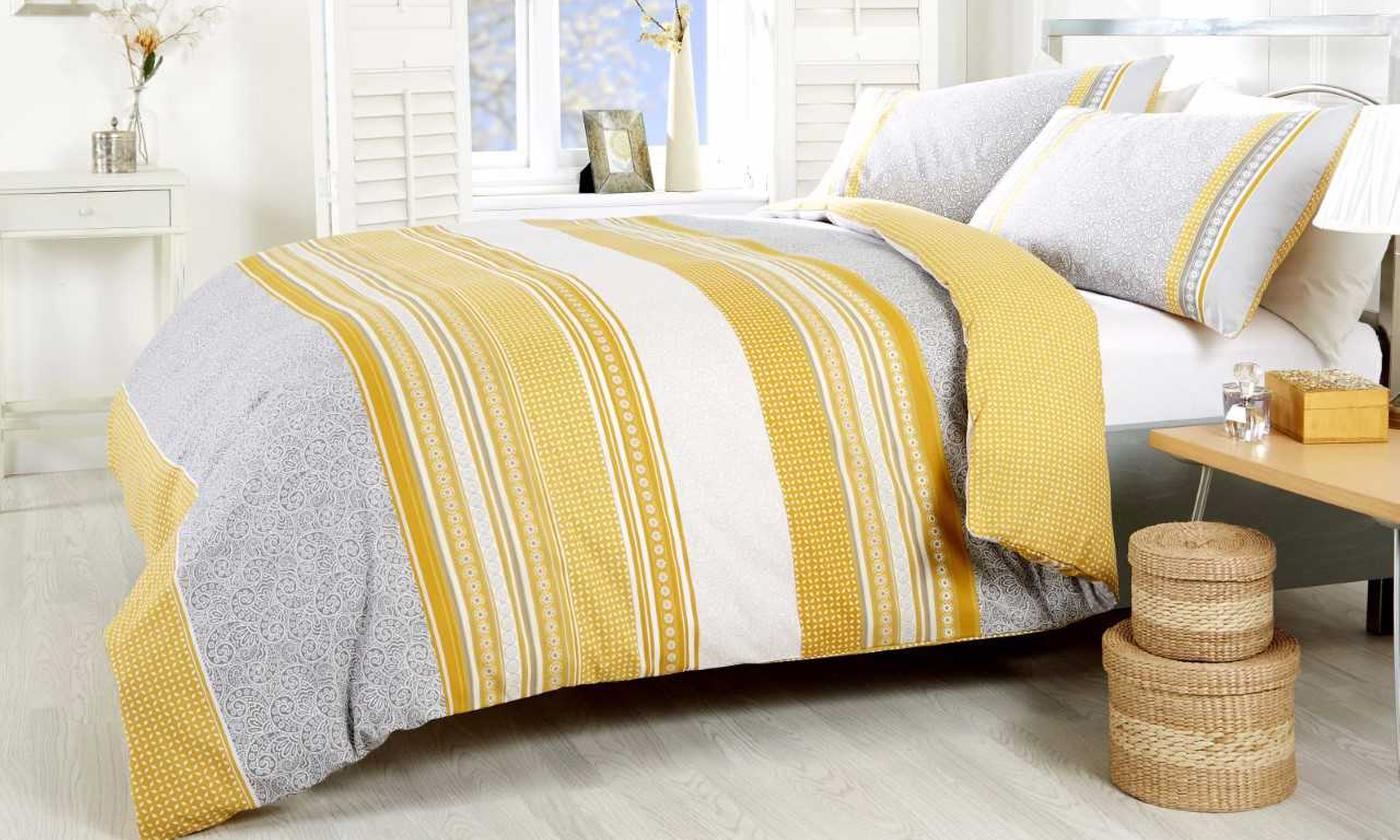 Rapport Home Havana Duvet Cover Set in Choice of Colour and Size for £8.99