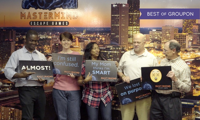 Room Escape Game Mastermind Escape Games Groupon
