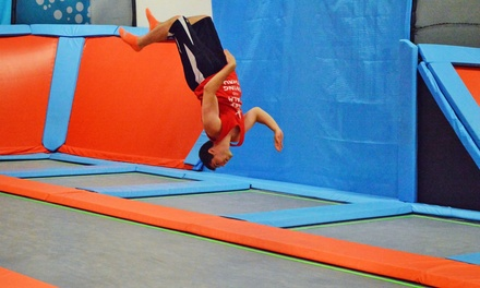 Two-Hour Open Jump for Two or Four or Three or Six AIRobics Classes at Air Trampoline Sports (Up to 39% Off)