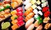 Menu sushi da asporto