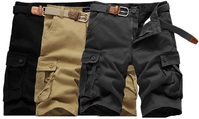 74c448c210de6 Bermuda homme Cargo avec poches | Groupon Shopping