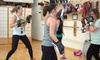Foxy and Fierce Women's Kickboxing - Hollywood Dojo: 5 or 10 Women's Kickboxing Bootcamp Classes at Foxy and Fierce Women's Kickboxing (Up to 76% Off)