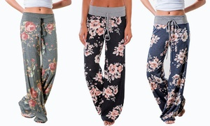 Women's Floral Flare Pants - Plus Sizes Available at Women's Floral Flare Pants - Plus Sizes Available, plus 6.0% Cash Back from Ebates.