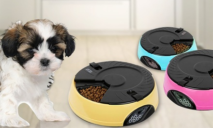 $49 for an Automatic Digital Pet Feeder in Choice of Colour