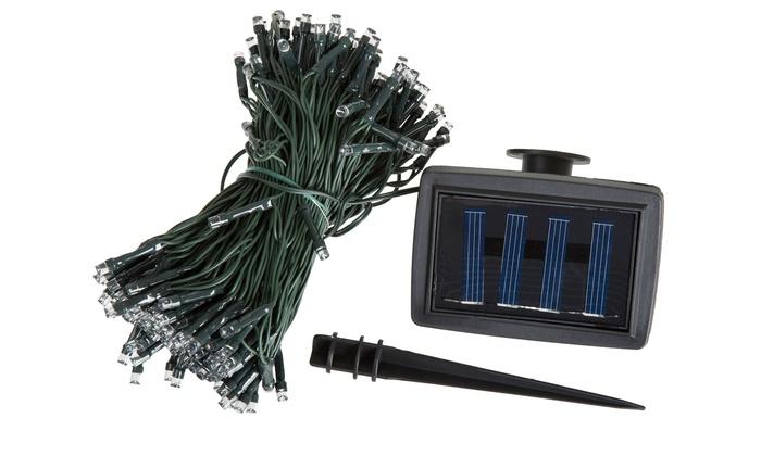String Lights Vistaprint : 50% Off on Solar LED String Lights Groupon Goods