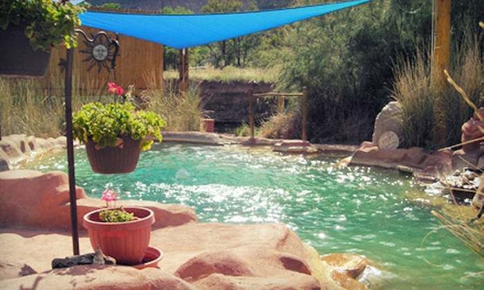 Giggling Springs Hot Springs - Hawk Site: $18 for a One-Hour Outdoor Hot-Spring Soak for Two at Giggling Springs Hot Springs ($36 Value)